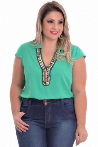 Blusa Plus Size Lorena