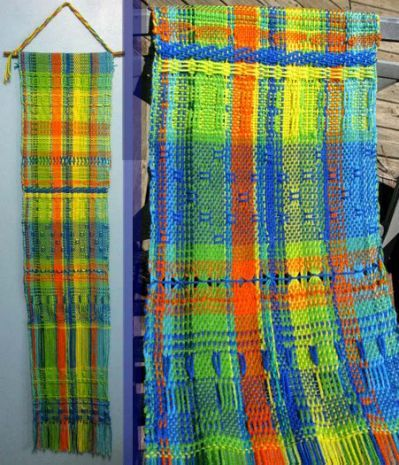 Working Without Patterns – Weaving