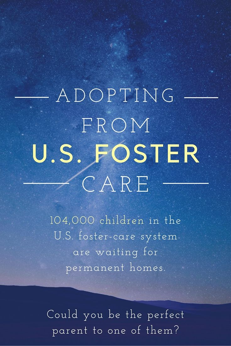 How To Adopt A Waiting Child From The Us Foster Care System