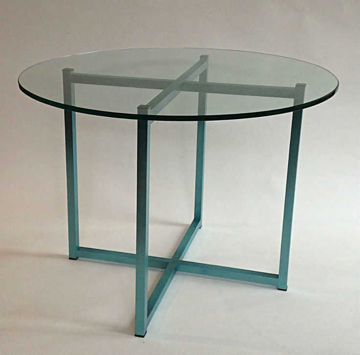 Peacock Blue Table