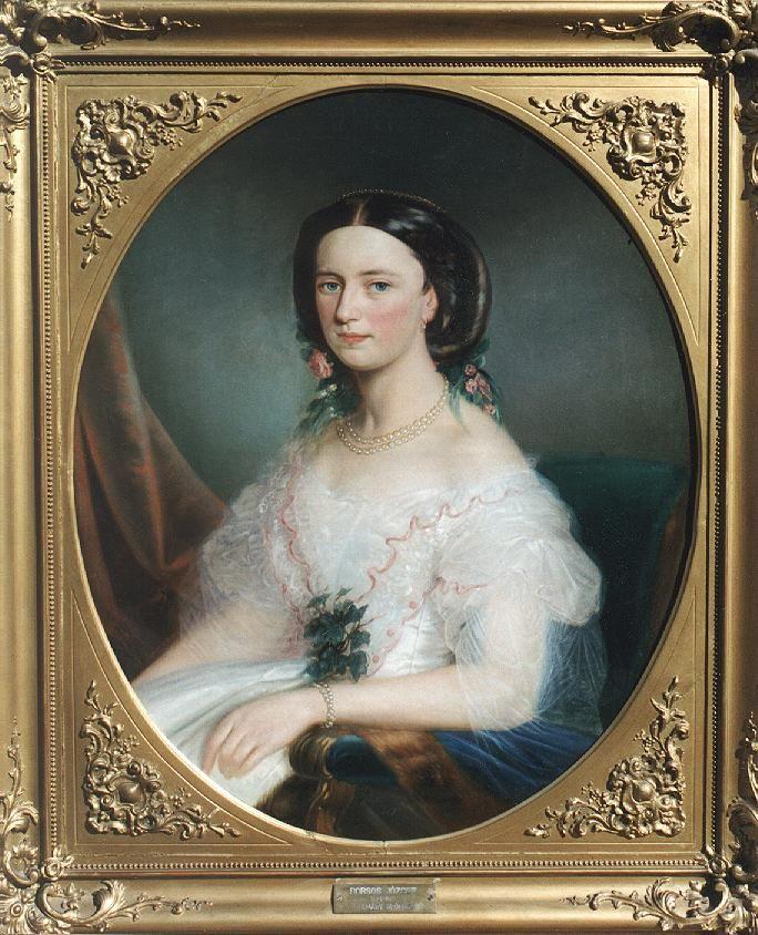 File:József Borsos-Countess Almásy 1852.jpg...#art #painting