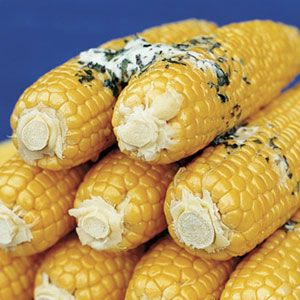 Corn on the cob with herb butter. These top 20 grilled side dishes are perfect for the #4thofJuly