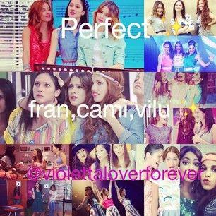 #Violetta Fran, Cami en vio