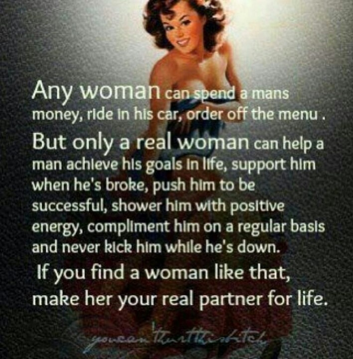 Quotes About Being A Real Woman: Real Women And Women's