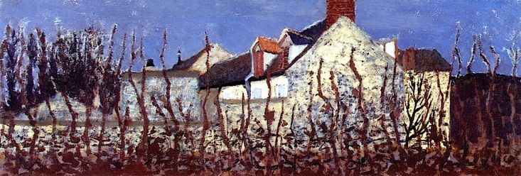 The Home of Mallarme in Valvins Edouard Vuillard - 1896