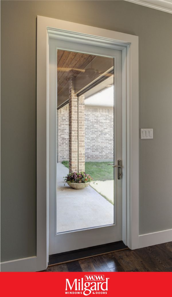 Single Patio Doors With Large Glass Views Glass Doors Patio Single Patio Door Exterior Doors With Glass
