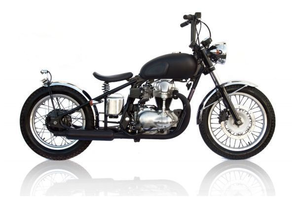 Deus Ex Machina    650 Hardtail    This retro-looking 2001 model 650 Hardtail by Australian custom motorcycle builders Deus Ex Machina not only looks fantastic but sounds good too. A great everyday bike with handling to match.    AU$16,900