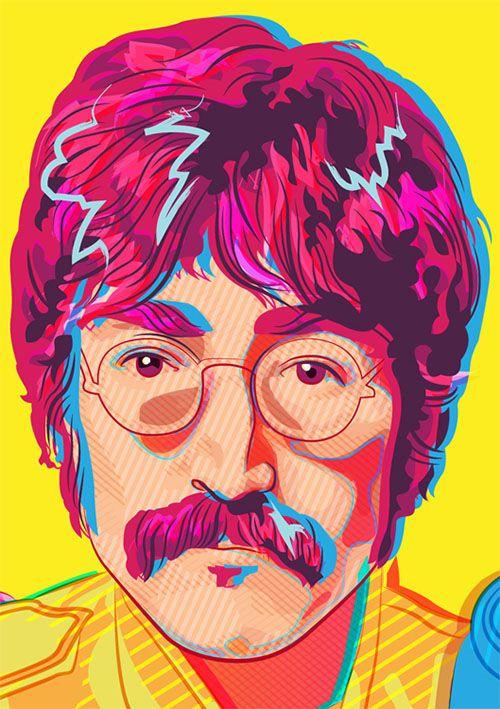 The Beatles - Sgt Pepper on Behance