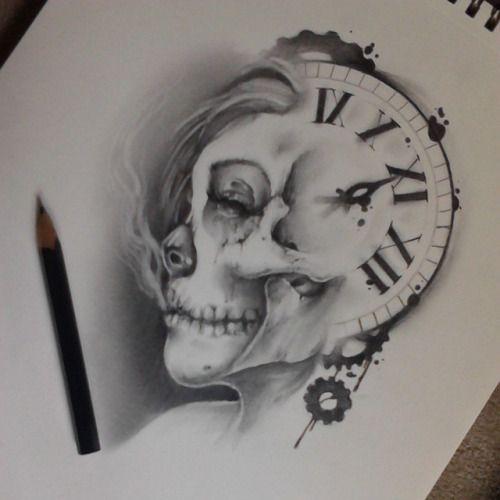 skull clock - Google Search
