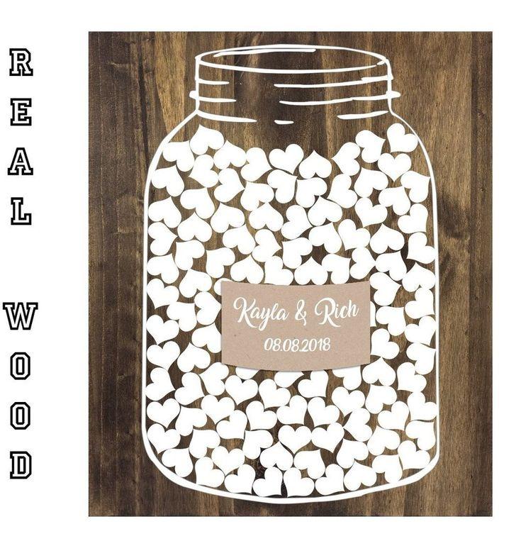 Alternative Wedding Guestbook - Jar Guestbook
