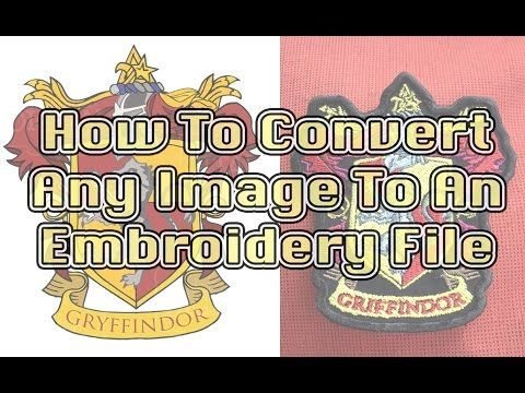 Digitizing Images for Embroidery - Easy How To Guide - YouTube Digitizing of a graphic, specifically for a patch.