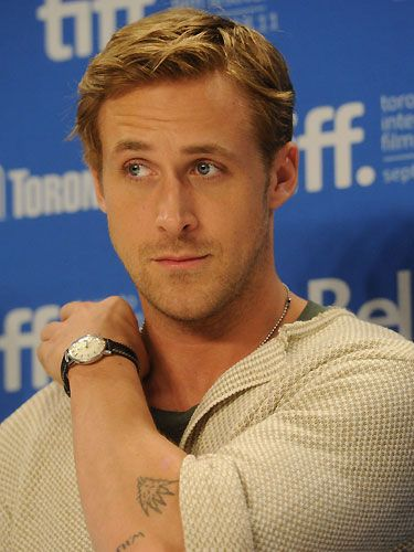 Any excuse to perve over Ryan Gosling, check out his tattoo