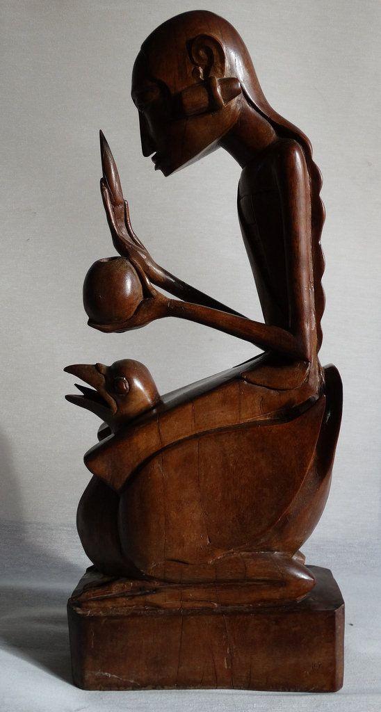https://flic.kr/p/CXAPAX | Art Deco sculpture Bali