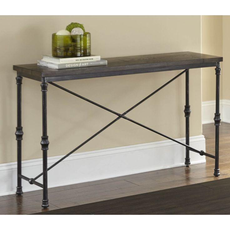 Loring Sofa Table by Greyson Living (Loring Sofa Table), Black