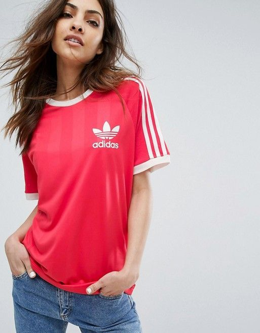 adidas Originals Red California T-Shirt
