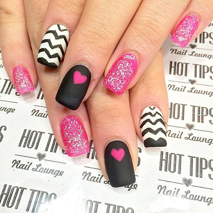 926 best a VALENTINES Nail Art images on Pinterest