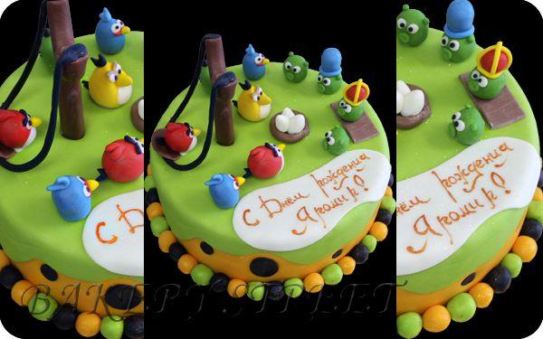 Торт angri berds