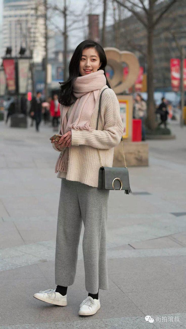 Chinese street style 2015 #hangzhou#shanghai fashion 中国街拍 2015-2016#street fashion week