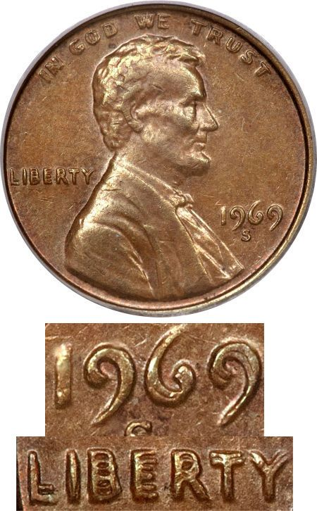 Doubled Die US Mint Errors Images - US Mint Error Coins