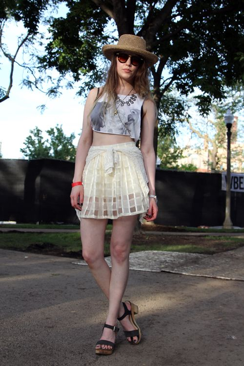 Check out our favourite looks from Pitchfork music festival in Chicago.