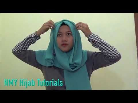 Easy Hijab Tutorials Style Of Pashmina Everyday Simpel Hijab - YouTube