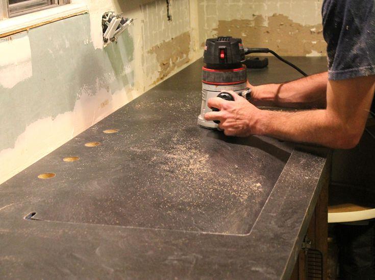 An Undermount Sink In Laminate Countertops Undermount