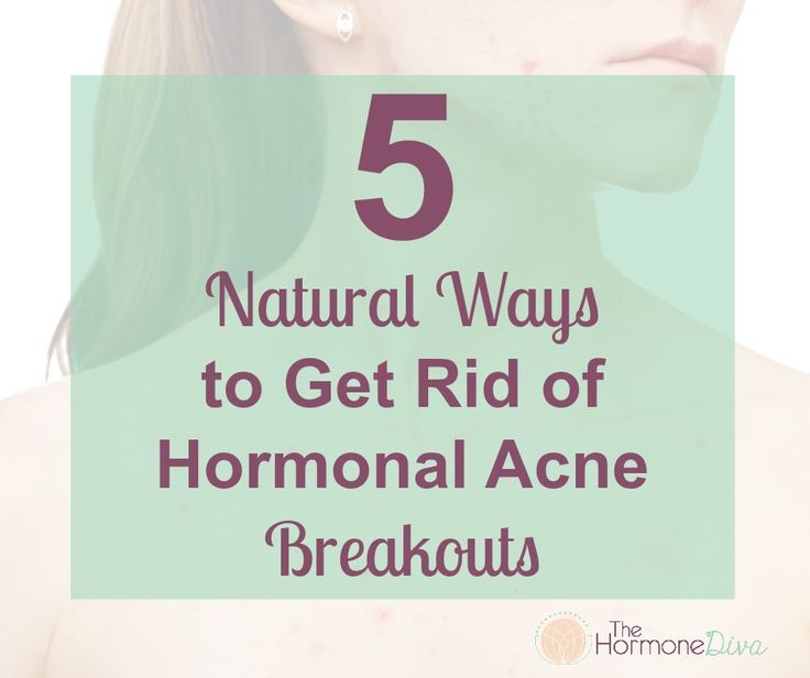 how to get rid of teenage hormonal acne