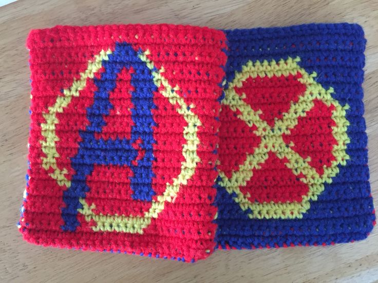Avengers and X-Men Dice Bags (Picture Only)