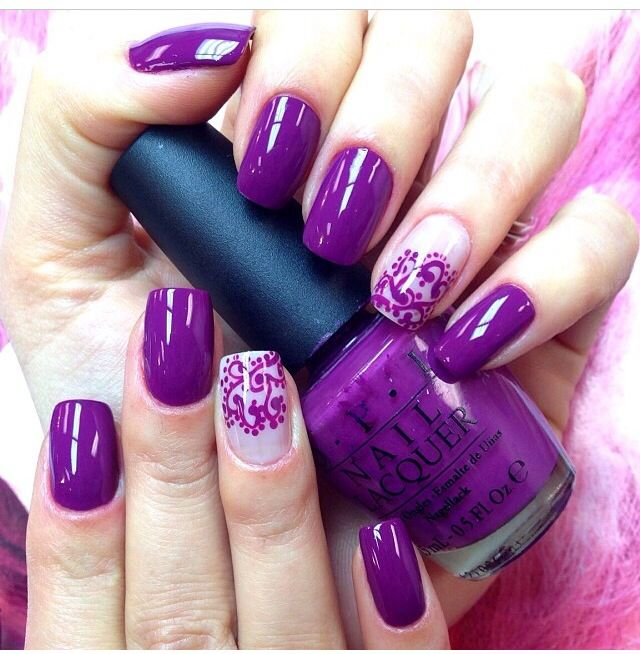 Most beautiful color ever! | See more nail designs at http://www.nailsss.com/acrylic-nails-ideas/2/