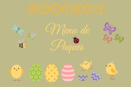 Recettes de Paques avec un top de recettes sur kaderick en kuizinn #paques #recette #fetesdepaques