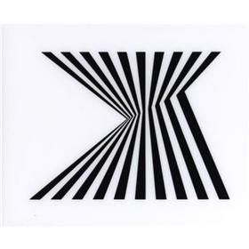 Untitled (Fragment 1) - Bridget Riley