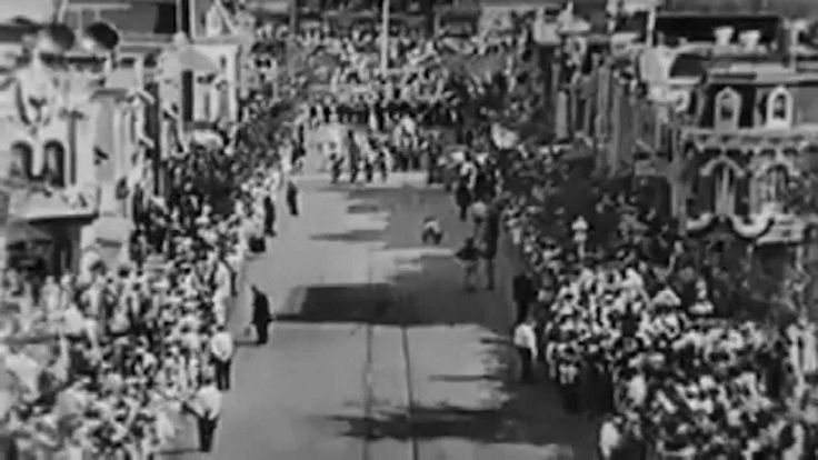 Disneyland Opening Day July 18th 1955 -- Complete ABC Broadcast -- this was a huge deal -- I watched the program and went 2 weeks later to take the Park in for the first time. We had been driving around it for a year before it opened trying to see what we could as a 'preview.'