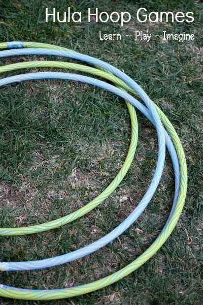 8 games to play with a hula hoop