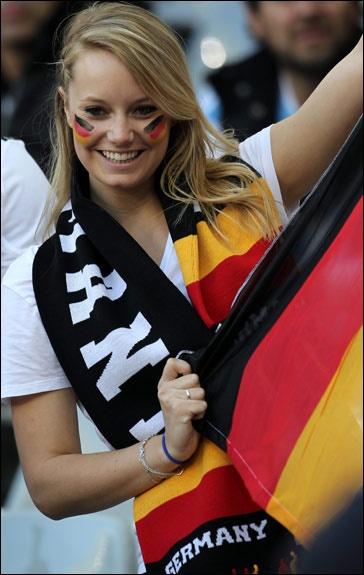 German soccer game