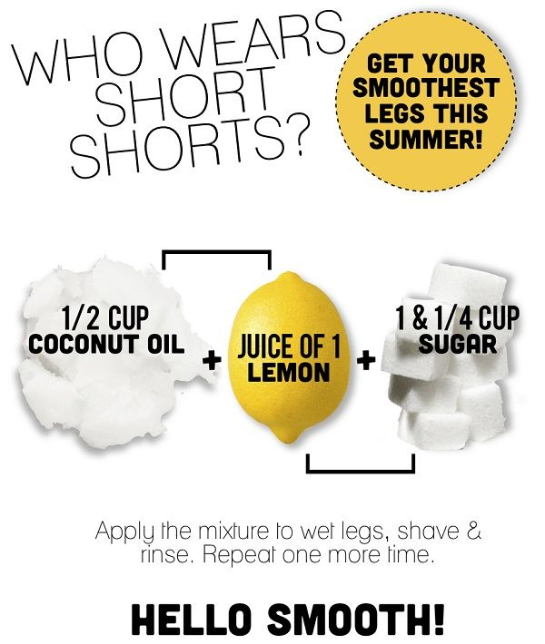 I WEAR SHORT SHORTS! Smooth and Silky Legs DIY Beauty Recipe