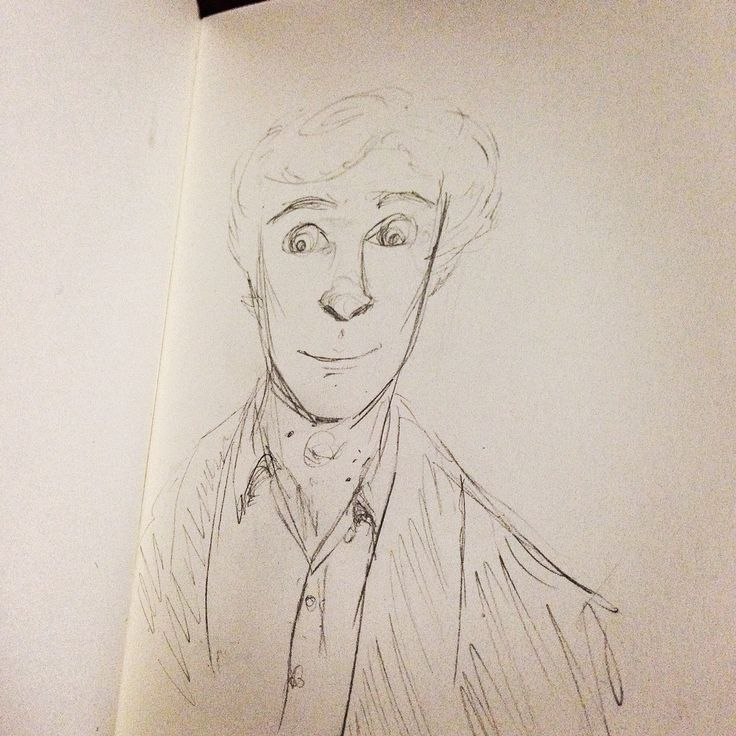 Sketch of Sherlock.