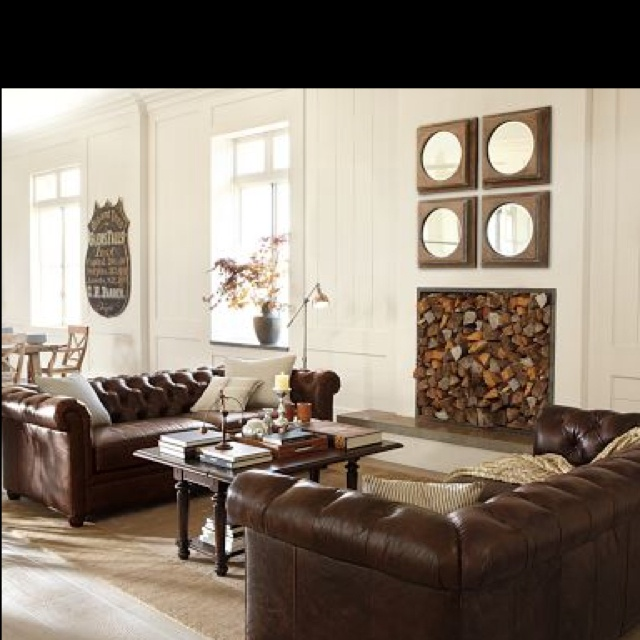 Ideas Pinterest Chesterfield Living Room And