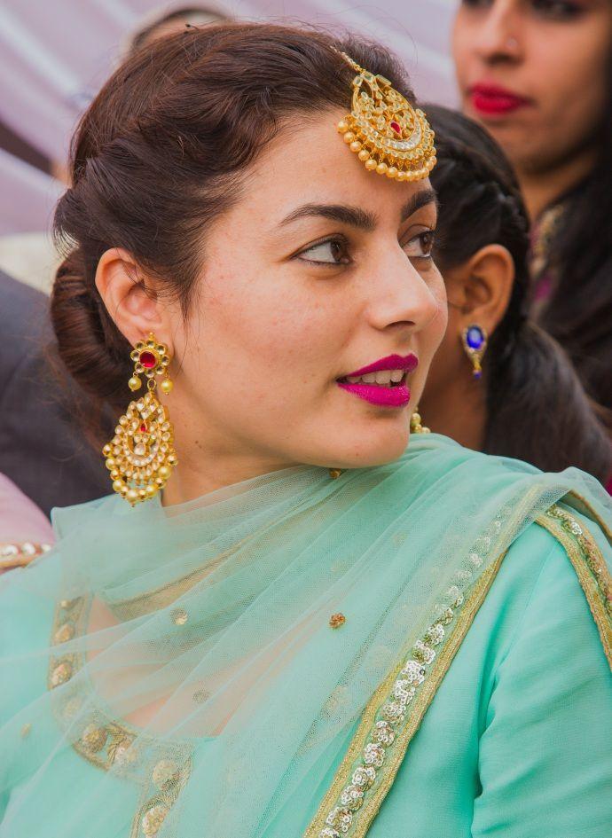 A Beautiful DIY Wedding In Their Own Ancestral Village:)!!!  #PunjabiLadiesSuits