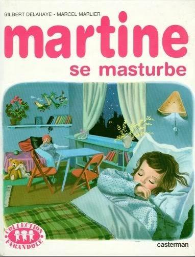 Martine se masturbe