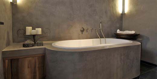 Goedkope Badkamer Kasten ~ De oppervlakte van beton cir? is volledig vlak waardoor vuil en vocht