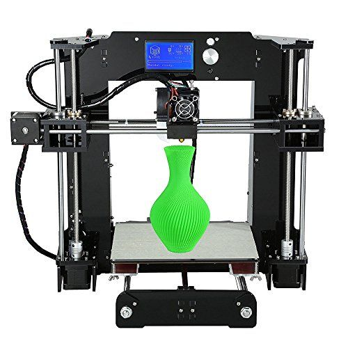 Loee Upgraded DIY Desktop 3D Printer Reprap Prusa i3 Kit, High Accuracy Self-Assembly Tridimensional FDM Printer, Multicolor Printing Machine