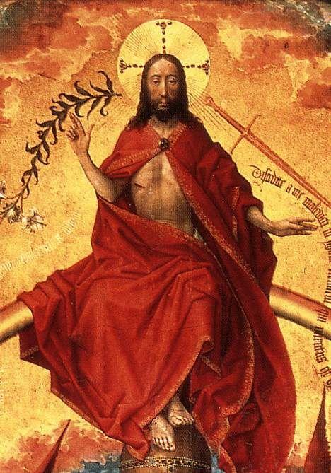 ❤ - ROGIER VAN DER WEYDEN (1400 - 1464) - The Last Judgement Polyptych (detail).