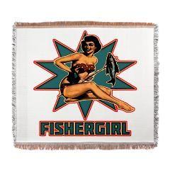 Fisher Girl 2013 Woven Blanket $92.50