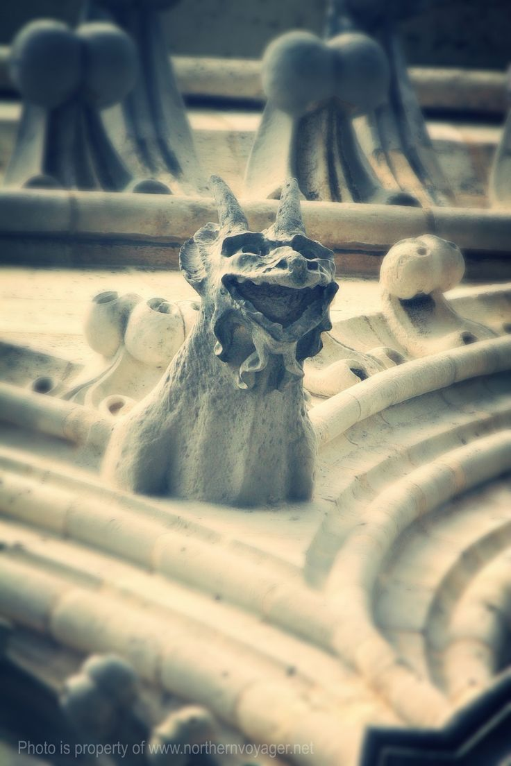 Gargoyles Notre Dame Paris Church Cathedral Religion French Travel Photography Image France www.northernvoyager.net Photo by Lee Mailer