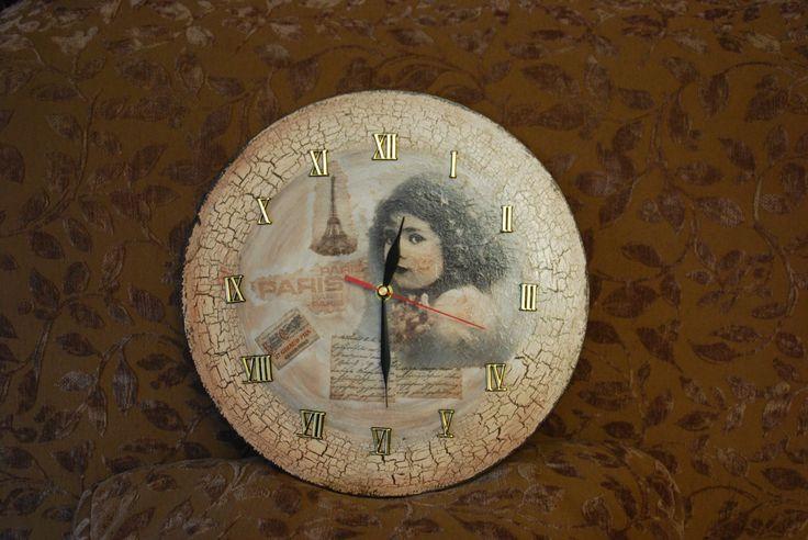 Mój pierwszy zegar - prezent dla mamy.