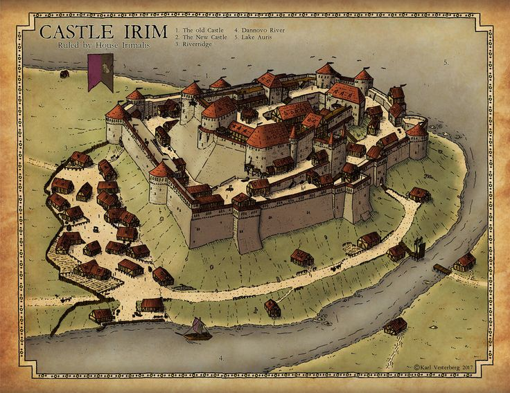 Commission 2017: Castle Irim by Traditionalmaps on DeviantArt