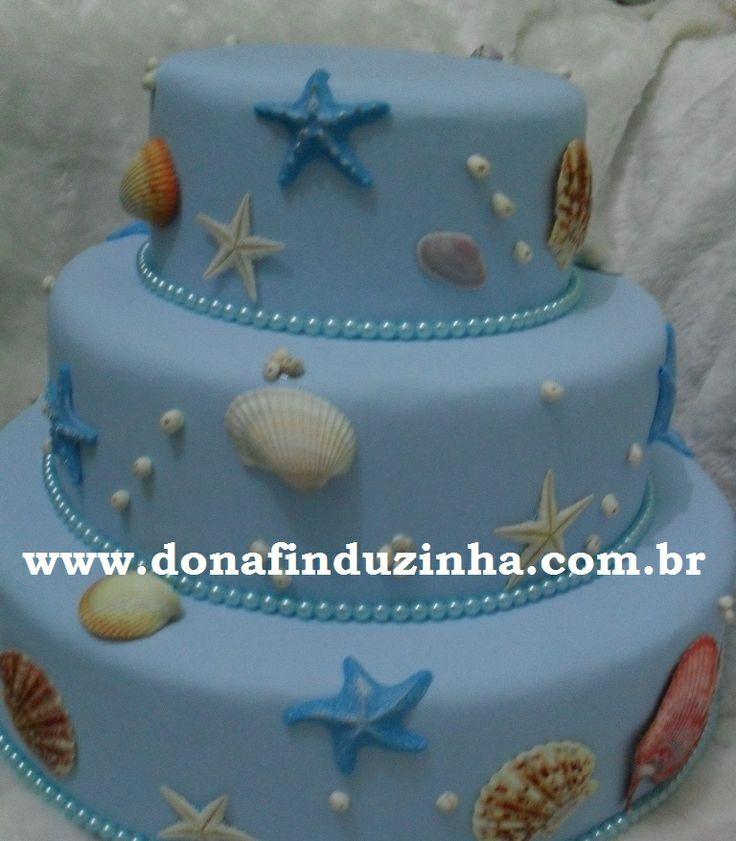 Bolo fundo do mar by Dona Finduzinha