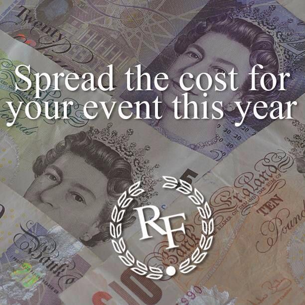 Have you thought about booking your event with us? We have the largest hall in the local area and with dedicated staff we guarantee to make your event special. Book now and spread the cost www.rockinghamforest.com/events