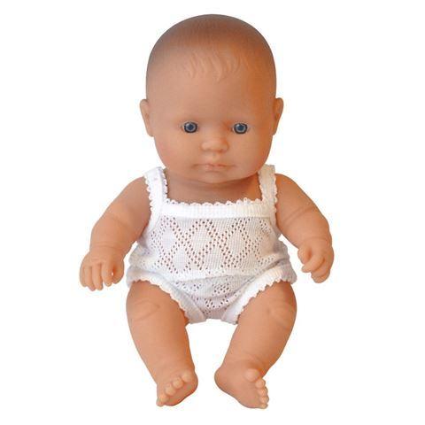 Peter's Of Kensington | Miniland - Caucasian Girl Baby Doll 21cm