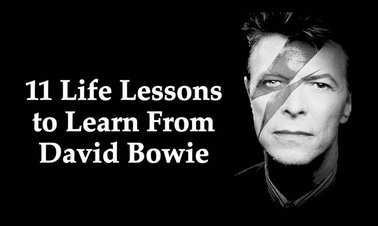 11Life Lessons to Learn From David Bowie